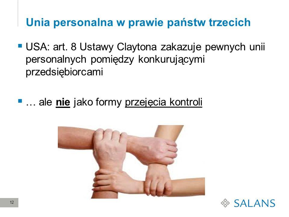 Unia personalna w prawie państw trzecich