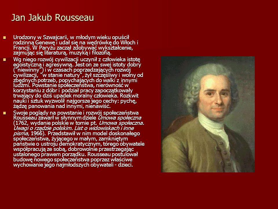 Jan Jakub Rousseau