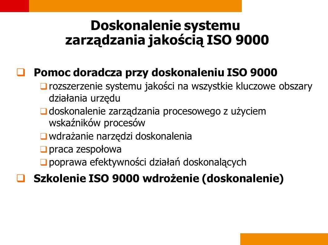 Doskonalenie systemu zarządzania jakością ISO 9000