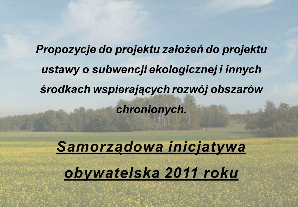 Samorządowa inicjatywa obywatelska 2011 roku