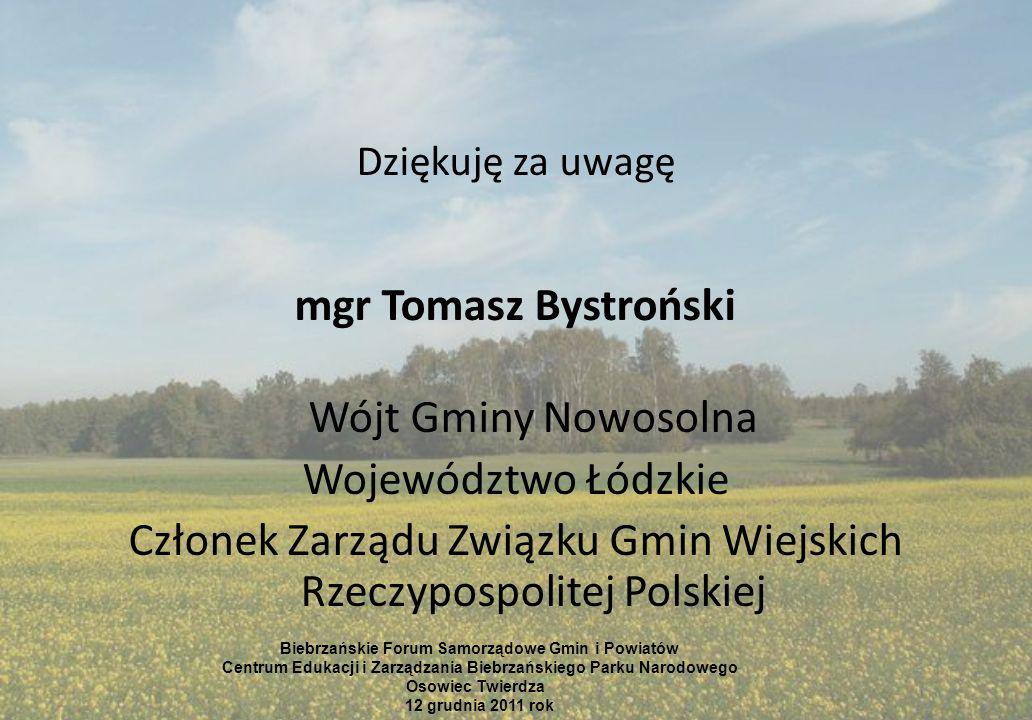 Członek Zarządu Związku Gmin Wiejskich Rzeczypospolitej Polskiej