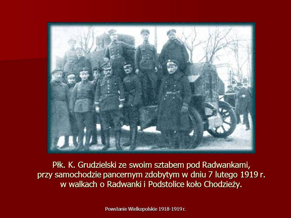 Powstanie Wielkopolskie 1918-1919 r.