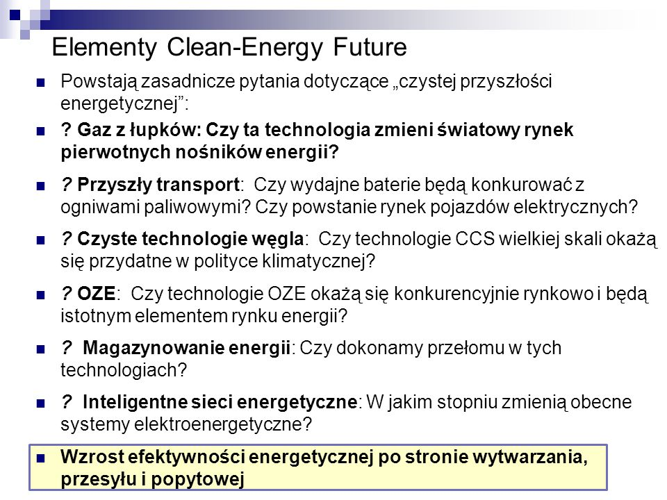 Elementy Clean-Energy Future