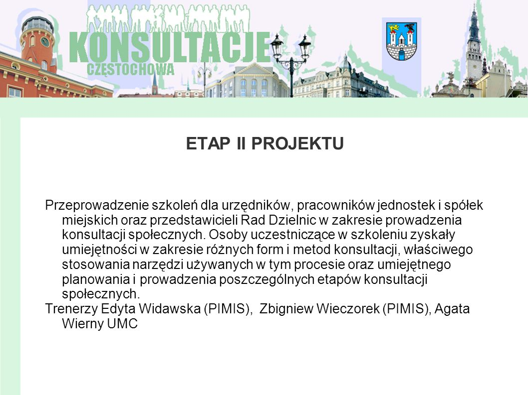 ETAP II PROJEKTU