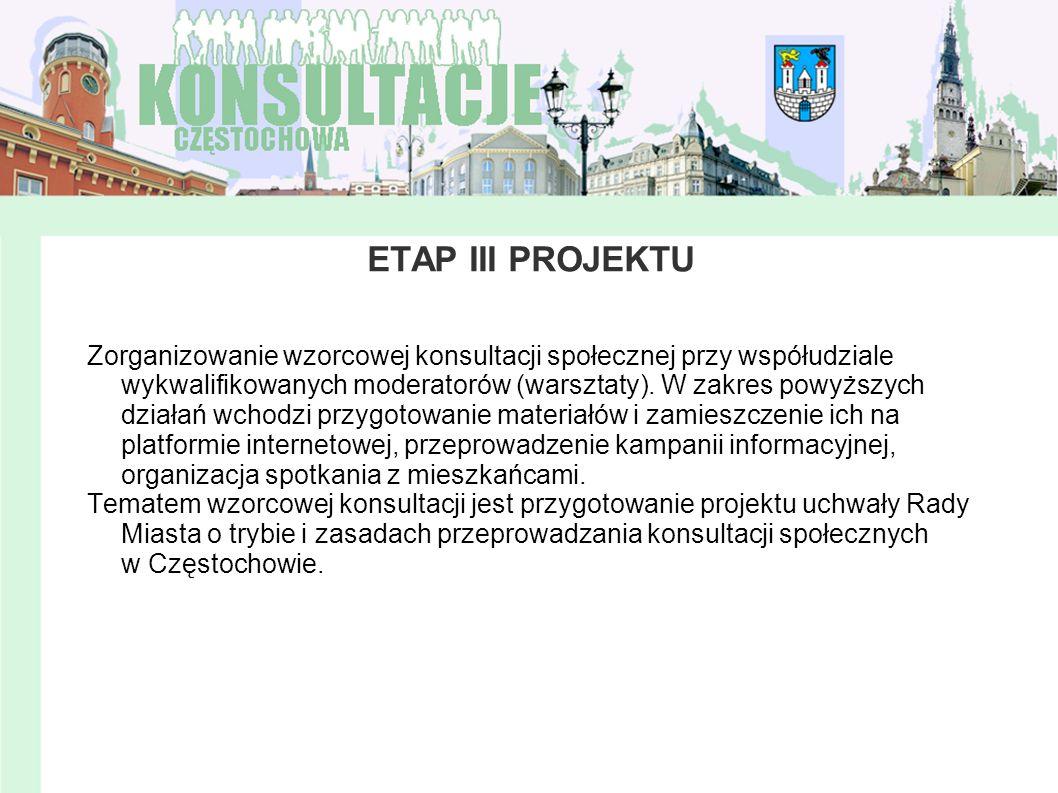 ETAP III PROJEKTU