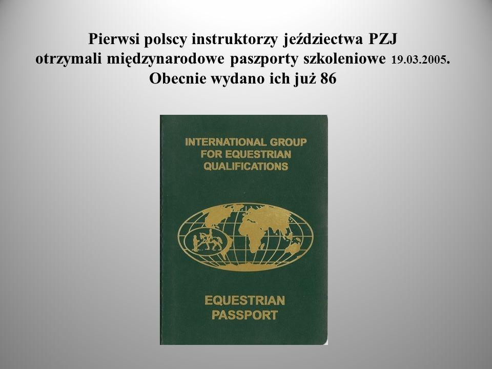 Pierwsi polscy instruktorzy jeździectwa PZJ