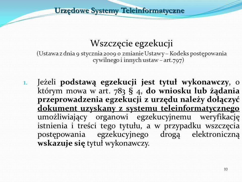 Urzędowe Systemy Teleinformatyczne