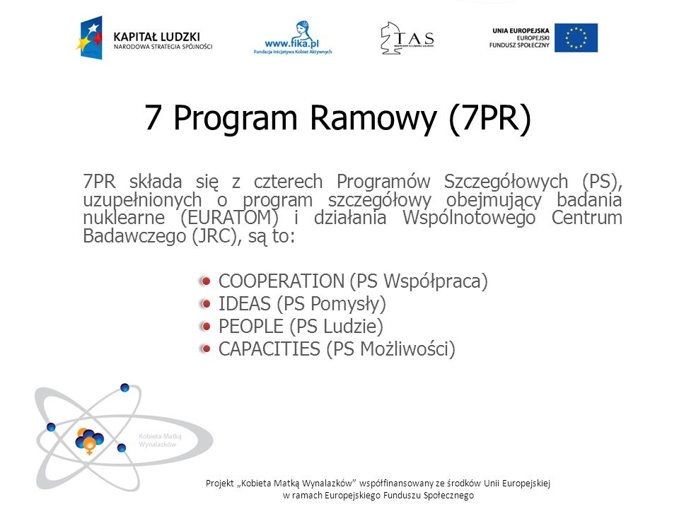 7 Program Ramowy (7PR)
