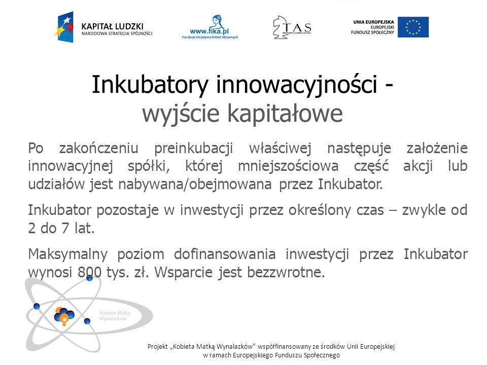 Inkubatory innowacyjności -