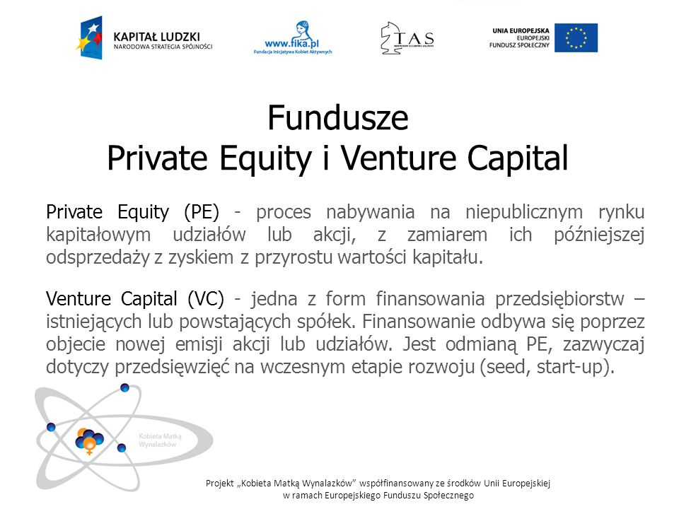 Private Equity i Venture Capital
