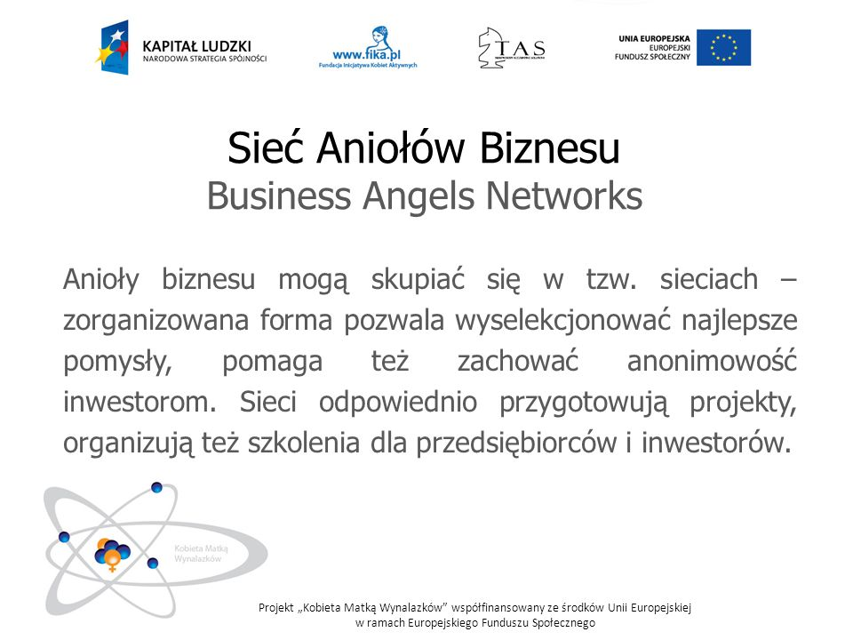 Business Angels Networks