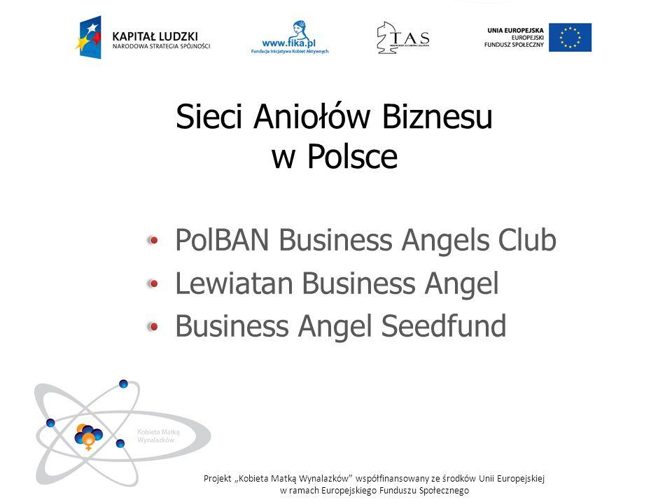 Sieci Aniołów Biznesu w Polsce PolBAN Business Angels Club