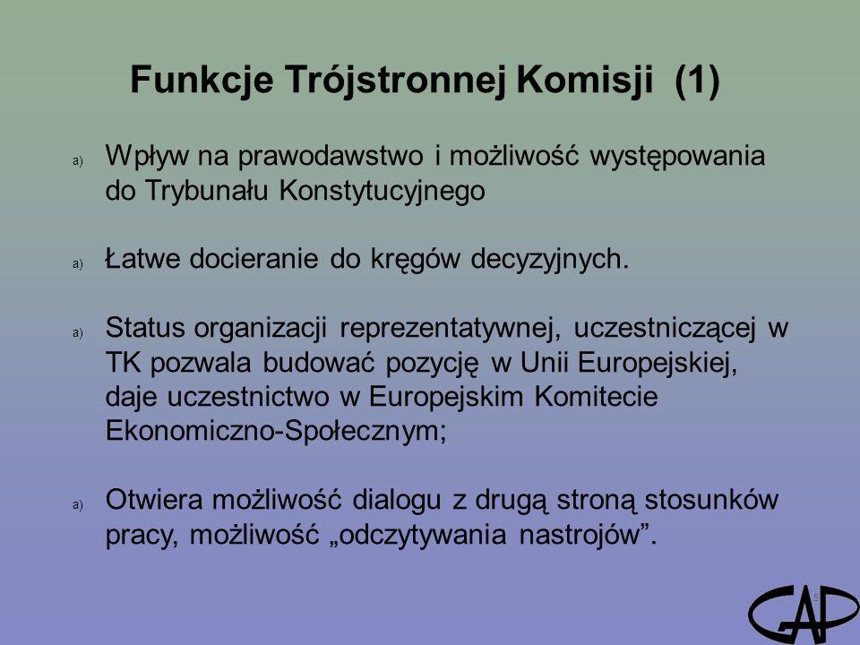 Funkcje Trójstronnej Komisji (1)
