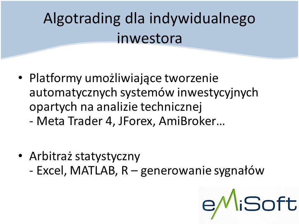 Algotrading dla indywidualnego inwestora