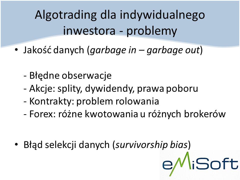 Algotrading dla indywidualnego inwestora - problemy