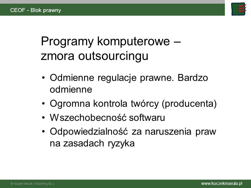 Programy komputerowe – zmora outsourcingu