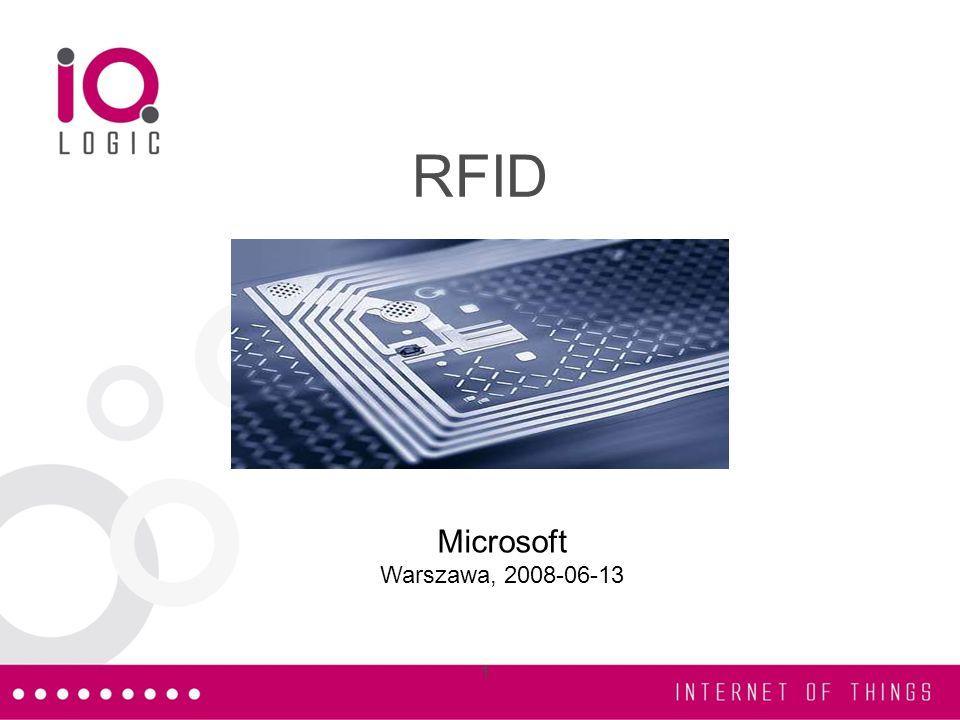 RFID Microsoft Warszawa, 2008-06-13 1