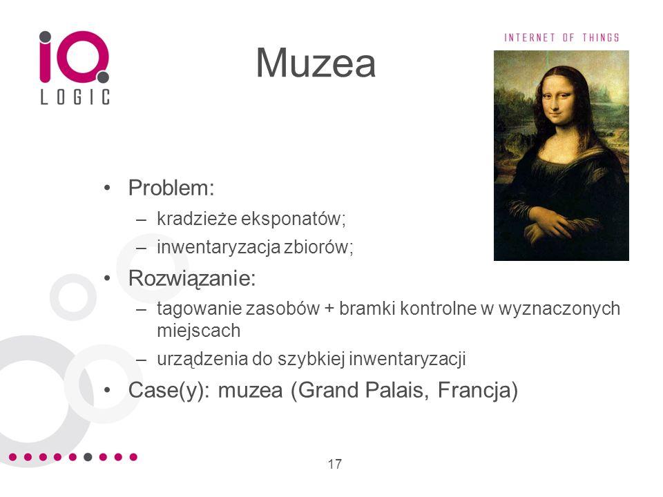 Muzea Problem: Rozwiązanie: Case(y): muzea (Grand Palais, Francja)