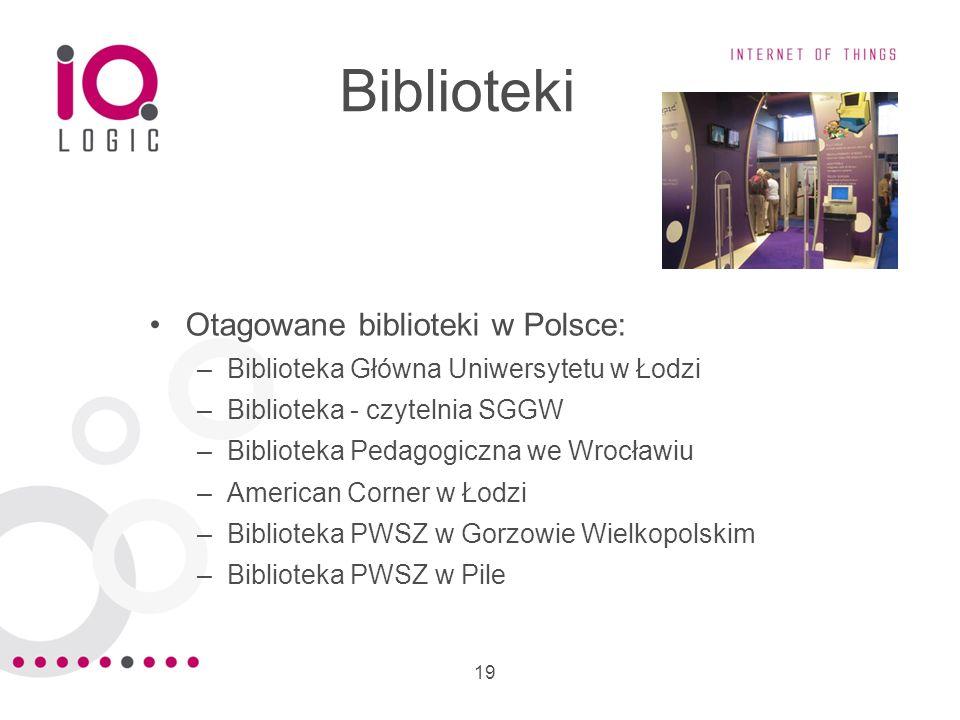 Biblioteki Otagowane biblioteki w Polsce:
