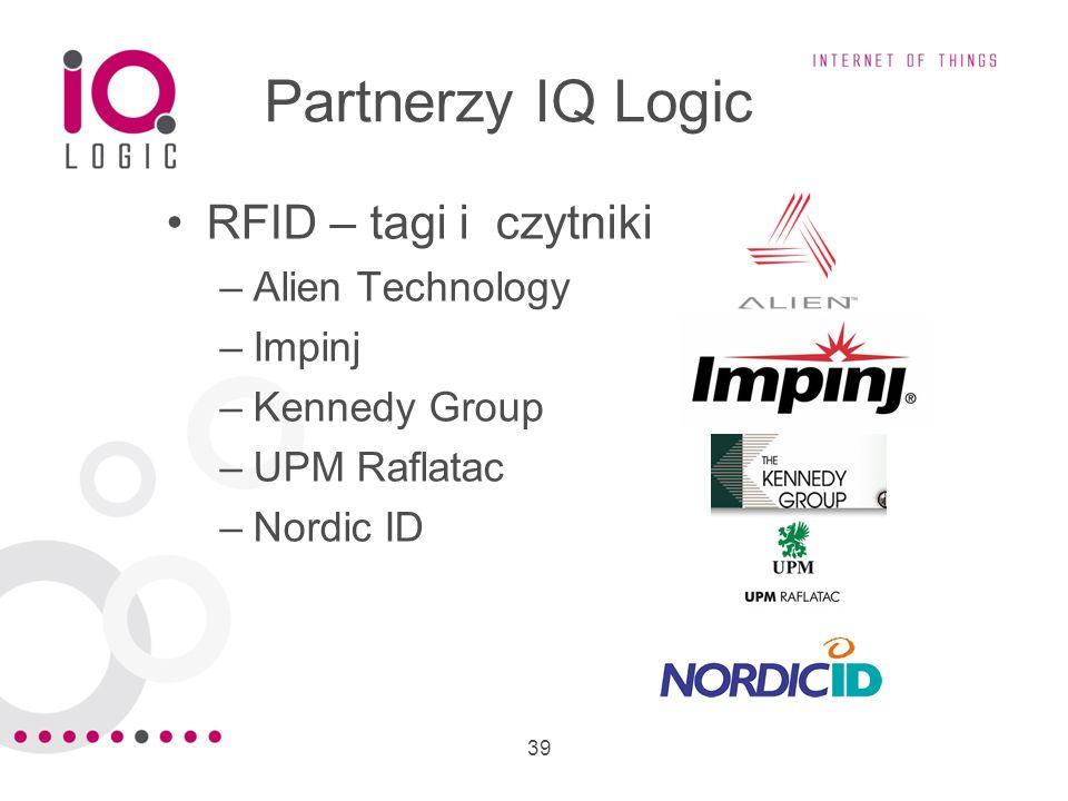 Partnerzy IQ Logic RFID – tagi i czytniki Alien Technology Impinj