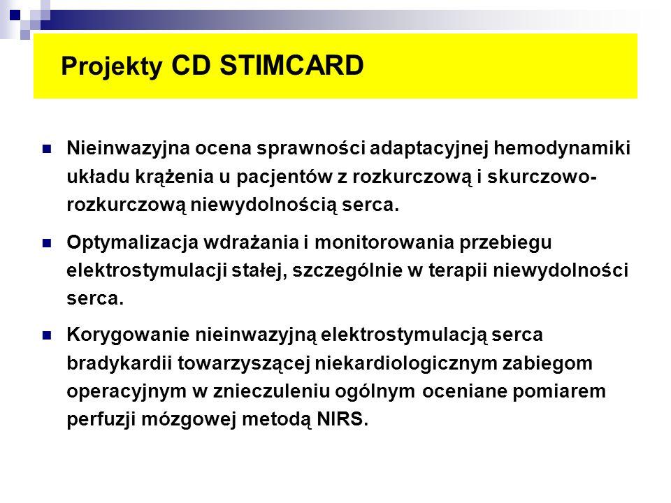 Projekty CD STIMCARD