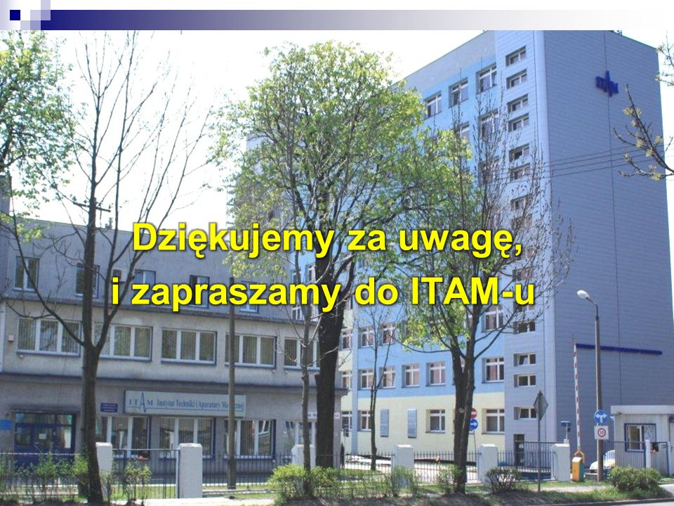 Dziękujemy za uwagę, i zapraszamy do ITAM-u