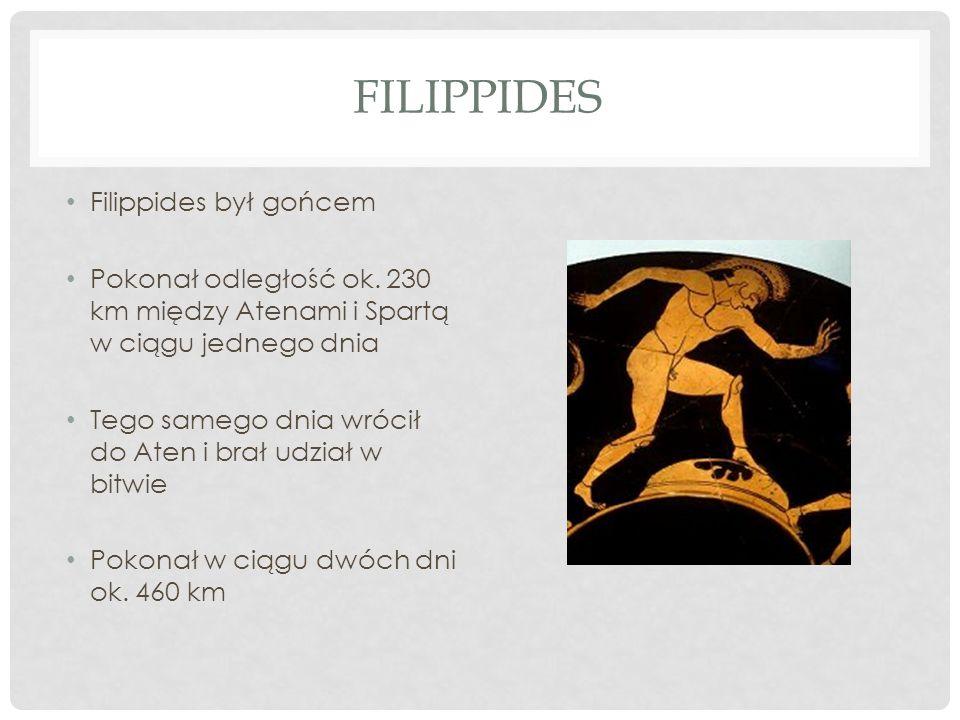 Filippides Filippides był gońcem