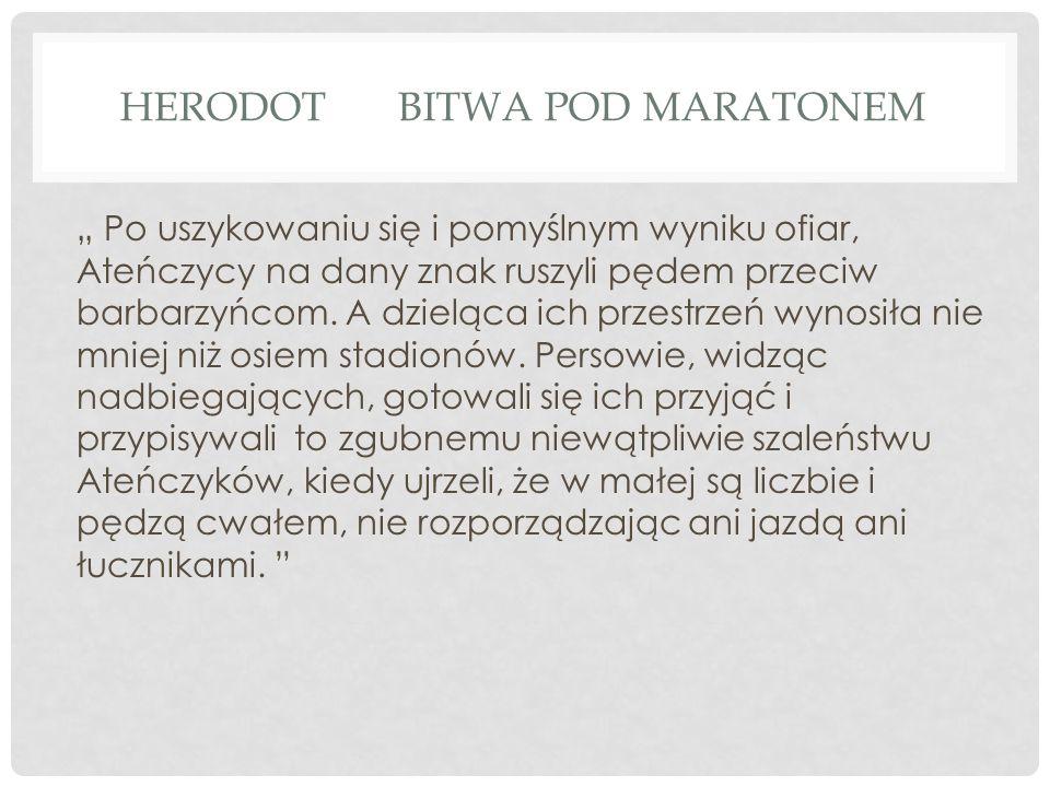 Herodot Bitwa pod Maratonem
