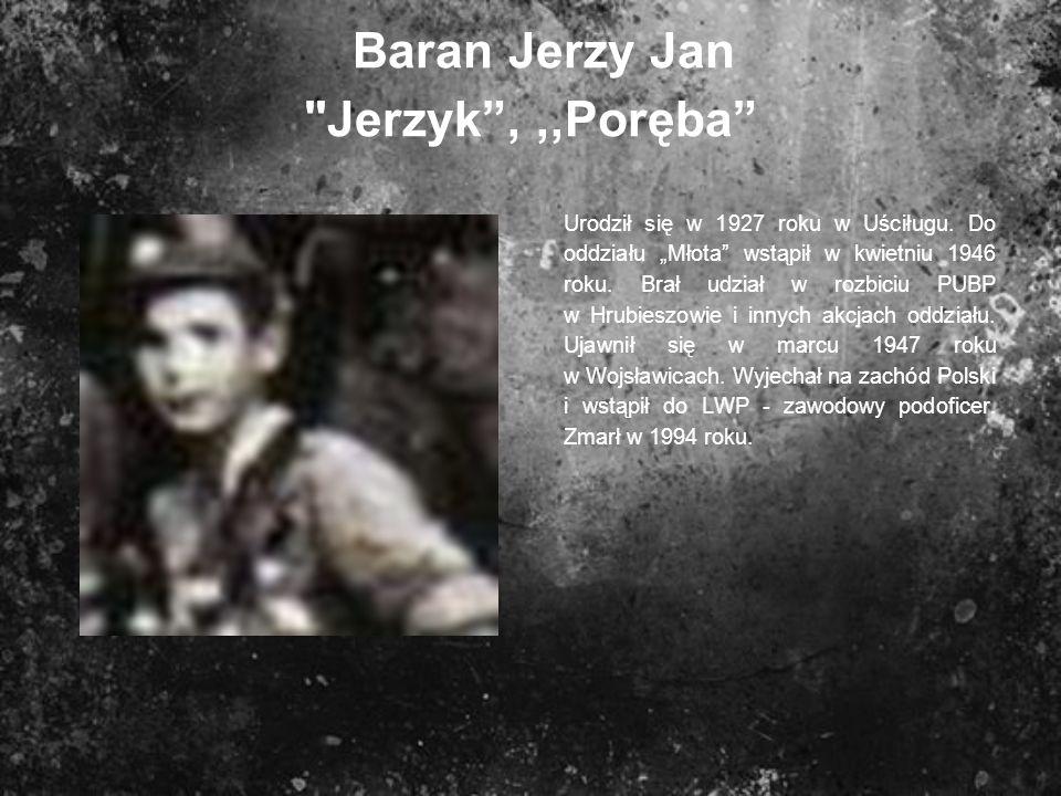 Baran Jerzy Jan Jerzyk , ,,Poręba