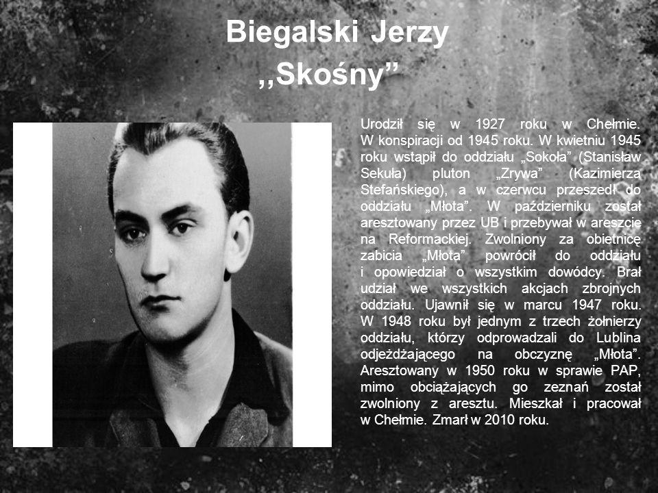Biegalski Jerzy ,,Skośny