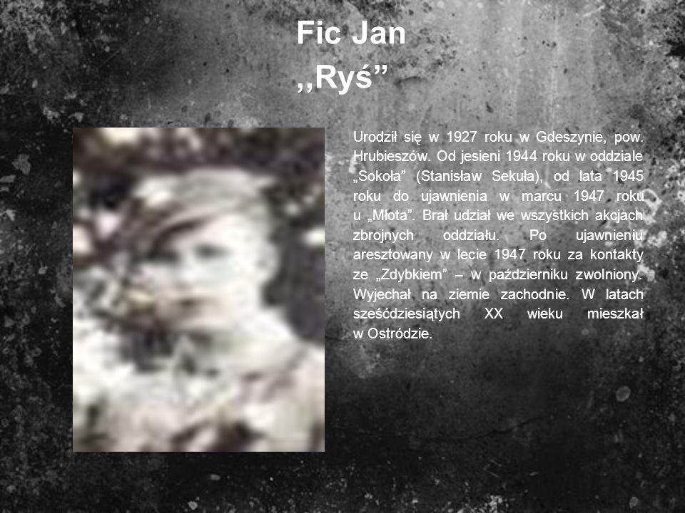 Fic Jan ,,Ryś
