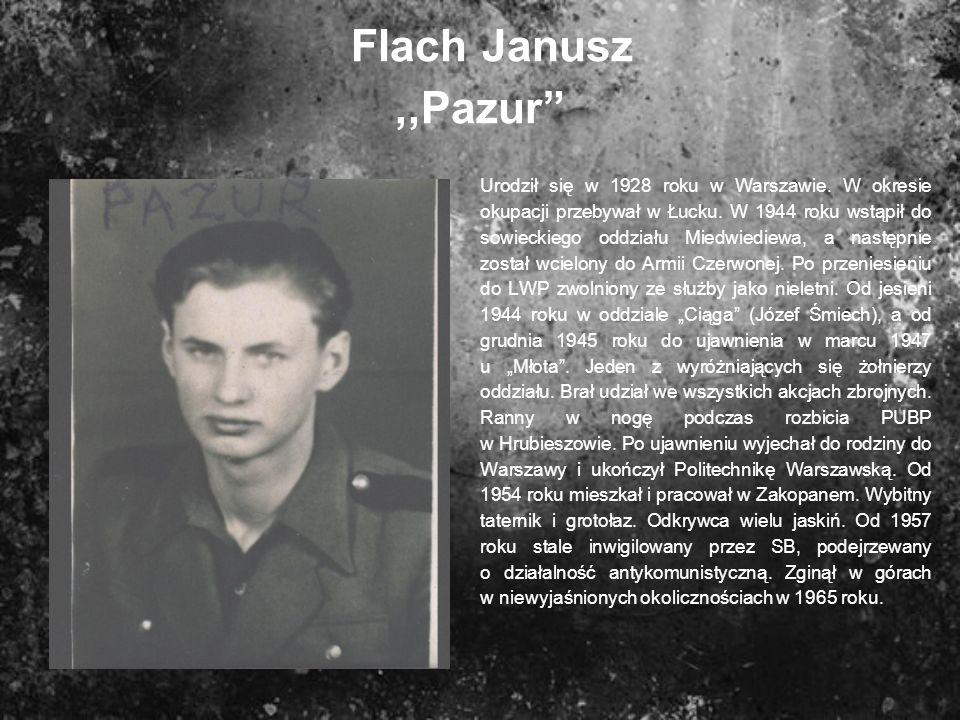 Flach Janusz ,,Pazur