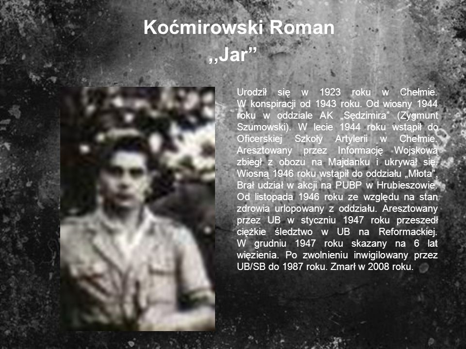 Koćmirowski Roman ,,Jar