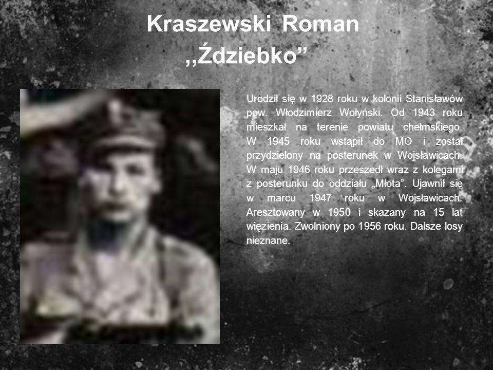 Kraszewski Roman ,,Ździebko