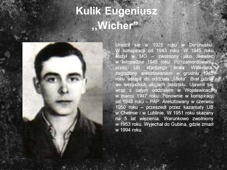 Kulik Eugeniusz ,,Wicher