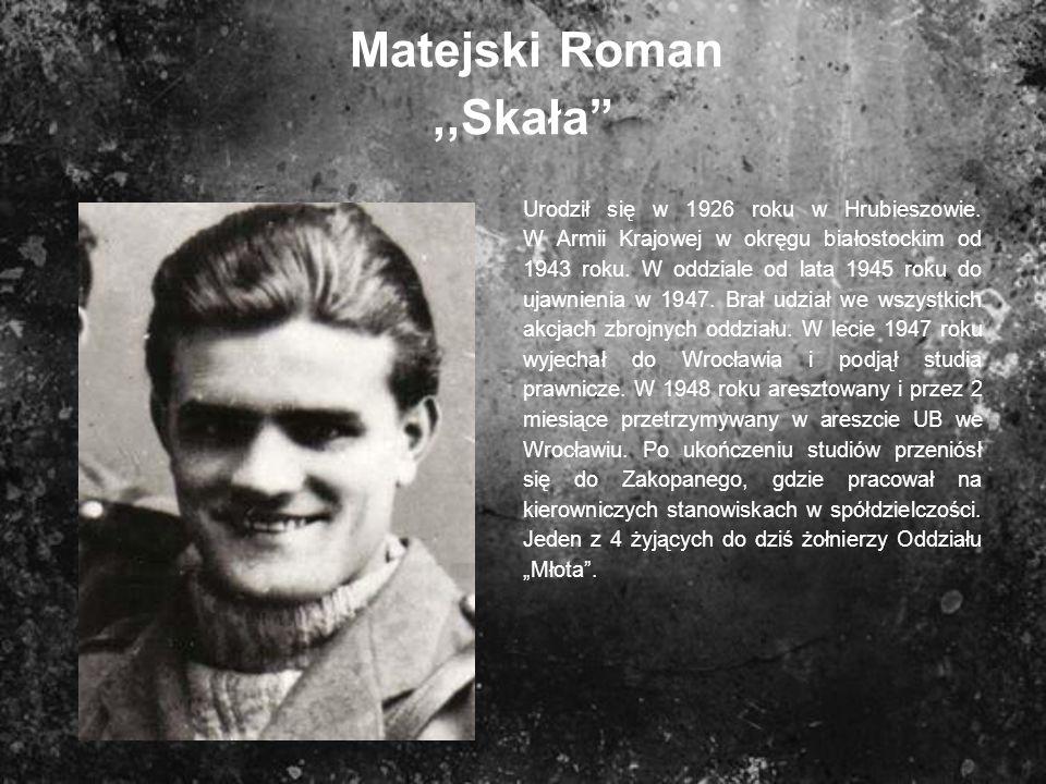 Matejski Roman ,,Skała