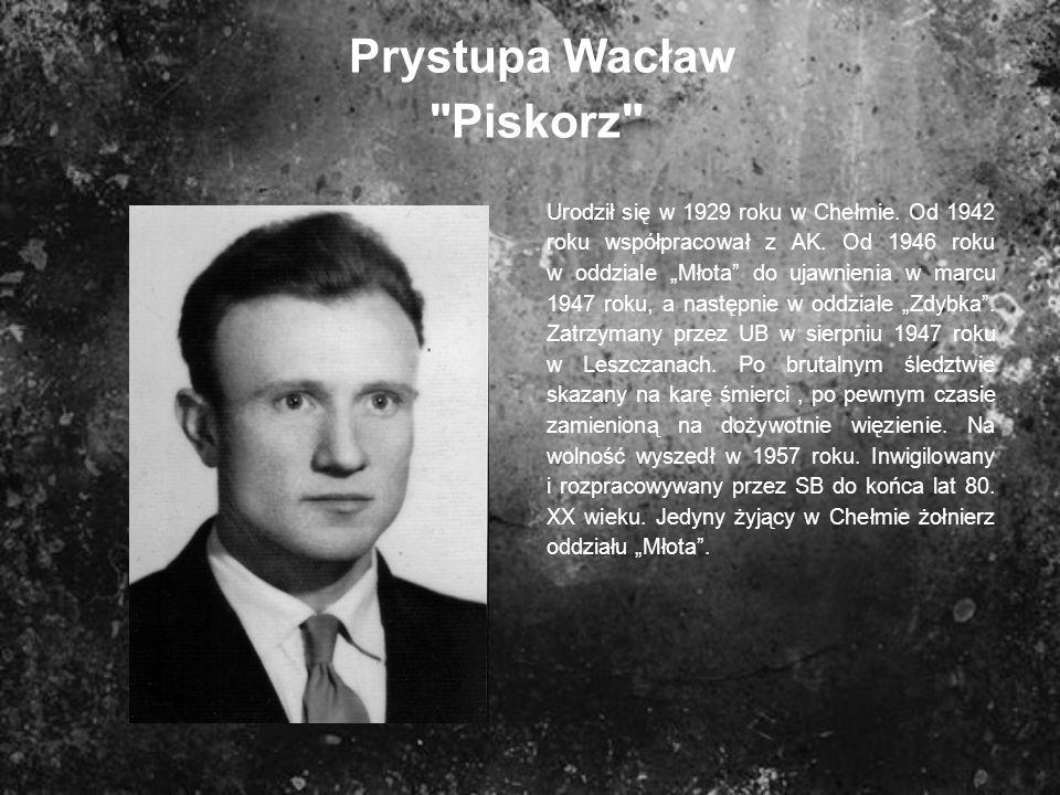 Prystupa Wacław Piskorz