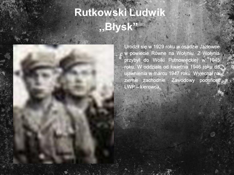 Rutkowski Ludwik ,,Błysk