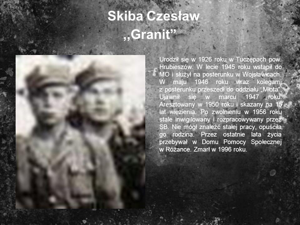 Skiba Czesław ,,Granit