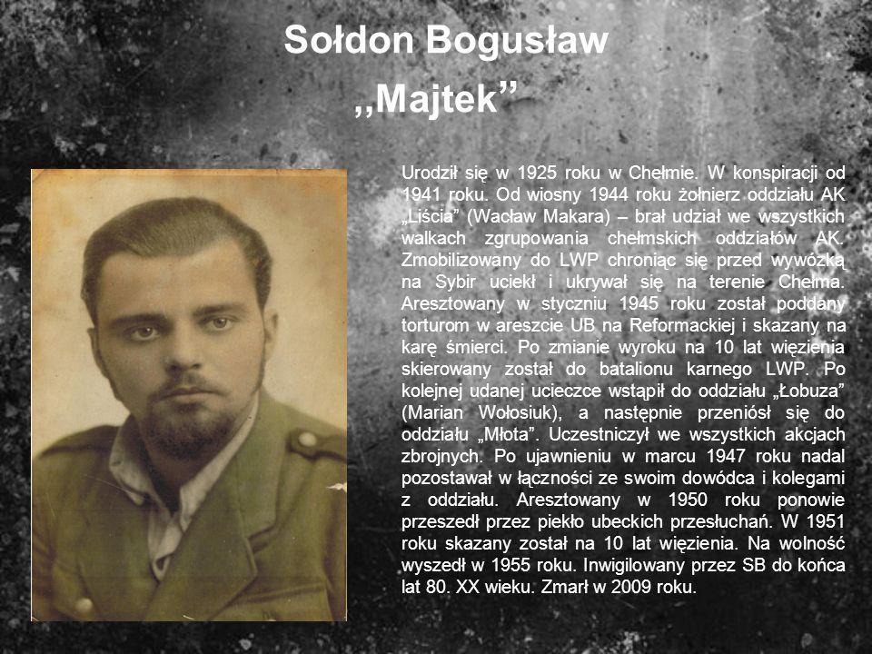 Sołdon Bogusław ,,Majtek