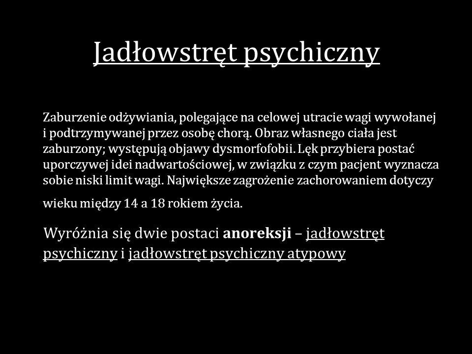 Jadłowstręt psychiczny