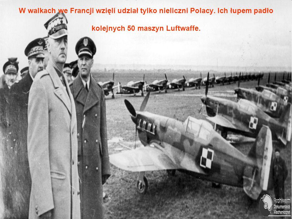 W walkach we Francji wzięli udział tylko nieliczni Polacy