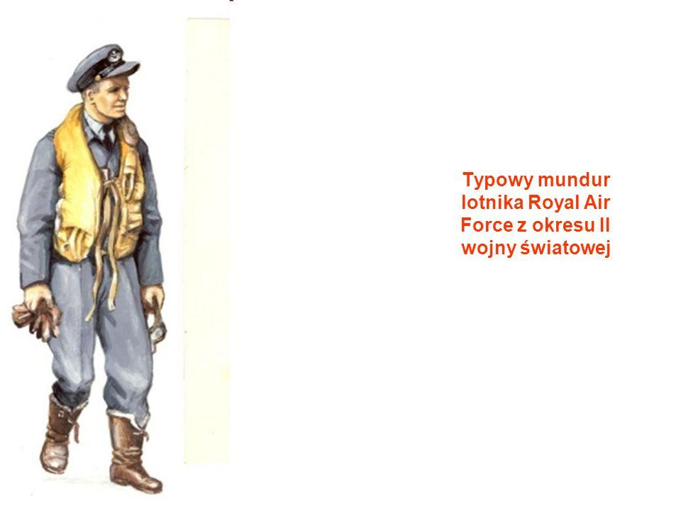 Typowy mundur lotnika Royal Air Force z okresu II wojny światowej