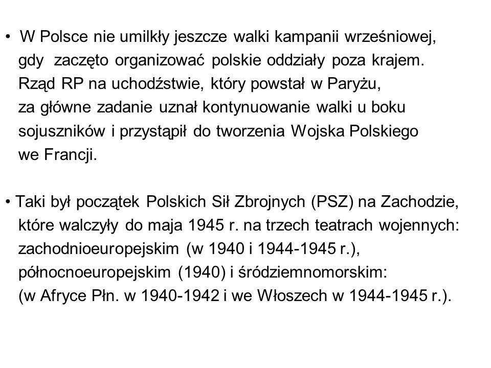 W Polsce nie umilkły jeszcze walki kampanii wrześniowej,