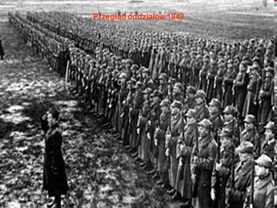 Przegląd oddziałów 1942