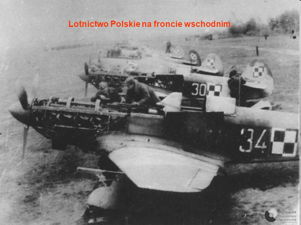 Lotnictwo Polskie na froncie wschodnim.