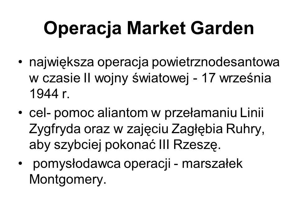 Operacja Market Garden