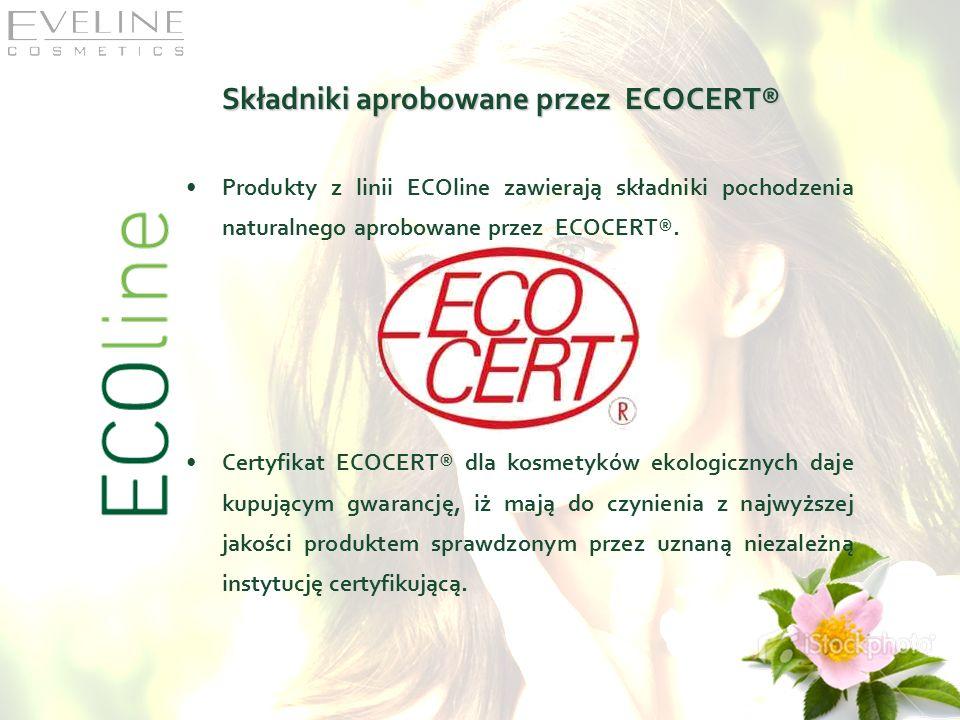 Składniki aprobowane przez ECOCERT®