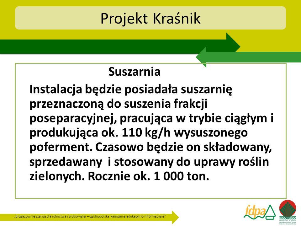 Projekt Kraśnik Suszarnia