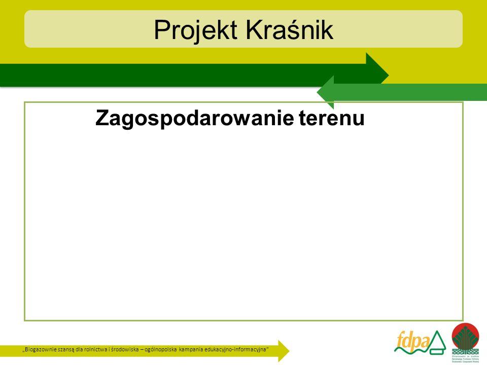 Projekt Kraśnik Zagospodarowanie terenu